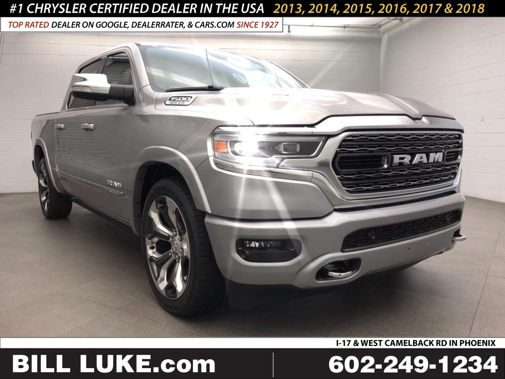 New 2019 Ram 1500 Limited Crew Cab 4x4 5 7 Box