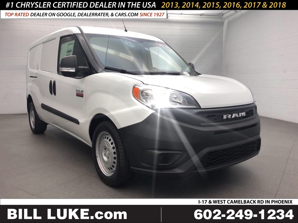 New 2019 RAM ProMaster City Tradesman 122 WB