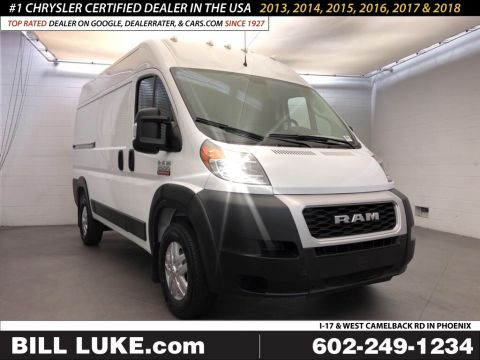 New 2019 RAM ProMaster High Roof 136 WB