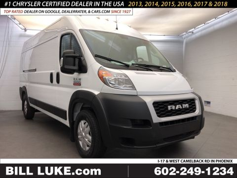 New 2019 RAM ProMaster High Roof 159 WB